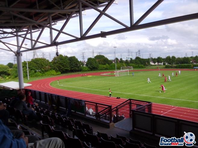 A photo of Deeside Stadium uploaded by smithybridge-blue