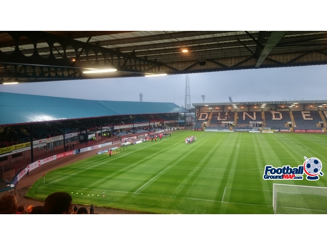 A photo of Dens Park uploaded by biscuitman88