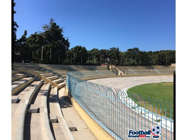 A photo of Diagoras Stadium uploaded by hiddeobdeijn
