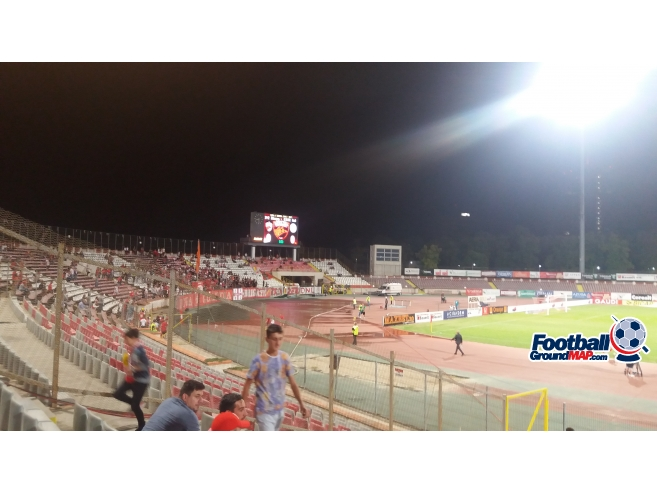 A photo of Dinamo Stadium uploaded by bomphs