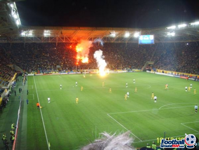 A photo of Dnipro Arena uploaded by garycraggs
