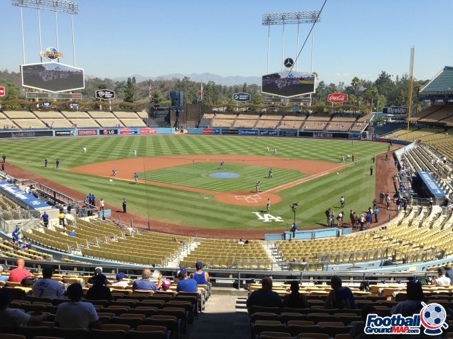 A photo of Dodger Stadium uploaded by garstonian