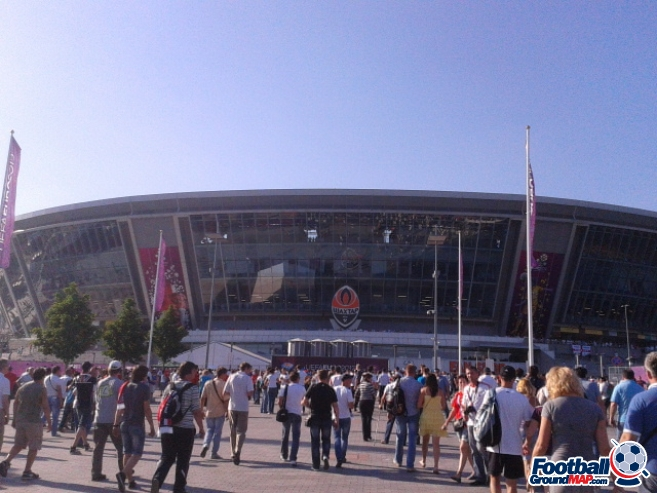 A photo of Donbass Arena uploaded by marcos92uk