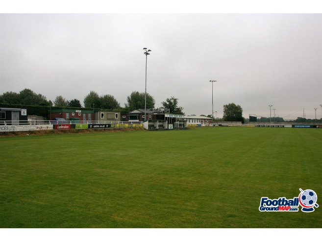 A photo of Dransfield Stadium uploaded by johnwickenden