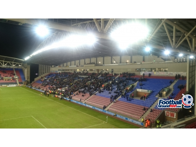 A photo of DW Stadium uploaded by biscuitman88