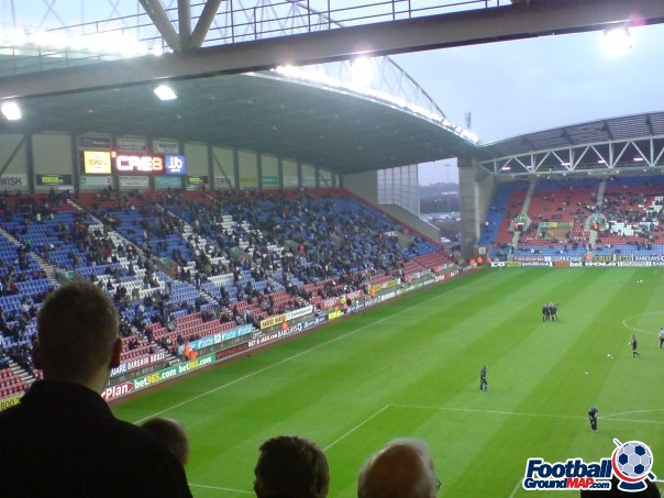 A photo of DW Stadium uploaded by roverchris