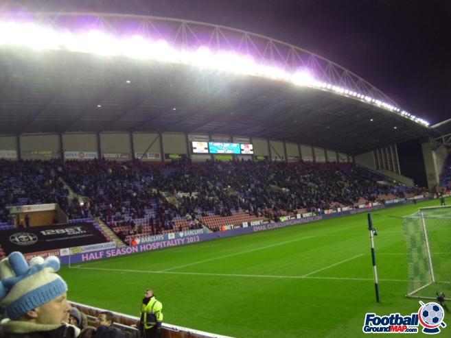 A photo of DW Stadium uploaded by smithybridge-blue
