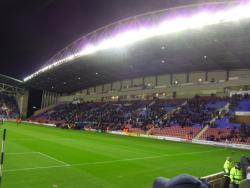 An image of DW Stadium uploaded by smithybridge-blue