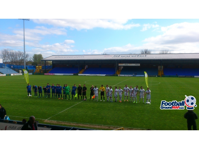 A photo of Edgeley Park uploaded by biscuitman88