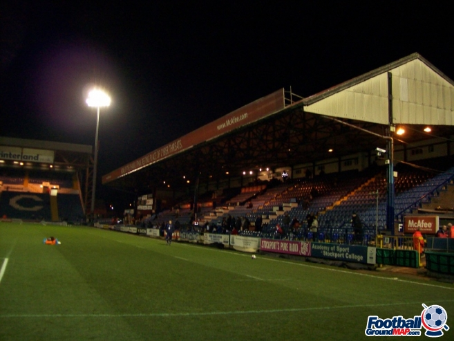 A photo of Edgeley Park uploaded by chunk9