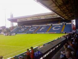 An image of Edgeley Park uploaded by steve-scfc