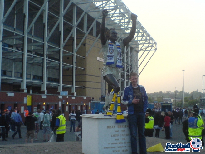 A photo of Elland Road uploaded by biscuitman88