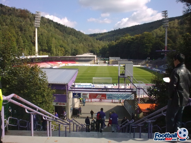 A photo of Erzgebirgsstadion uploaded by rivington
