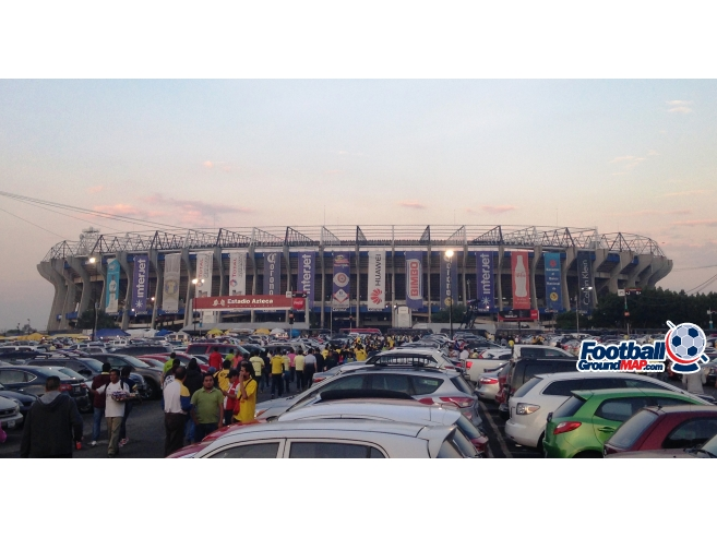 A photo of Estadio Azteca uploaded by marcos92uk