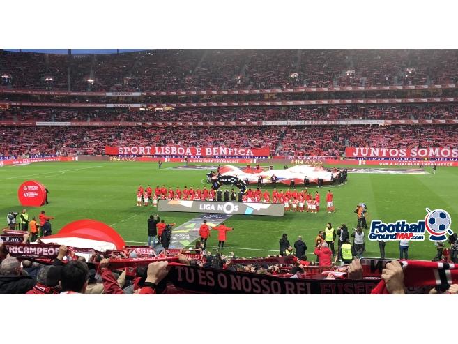 A photo of Estadio da Luz uploaded by pedrolb