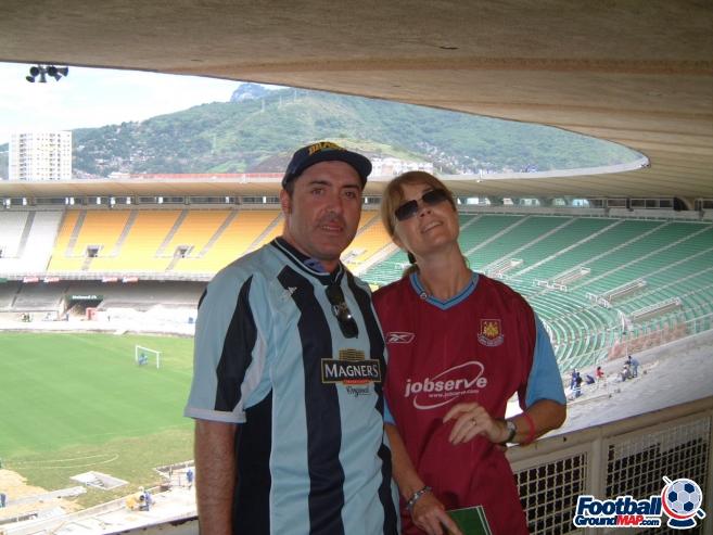 A photo of Estadio do Maracana uploaded by mikethedee