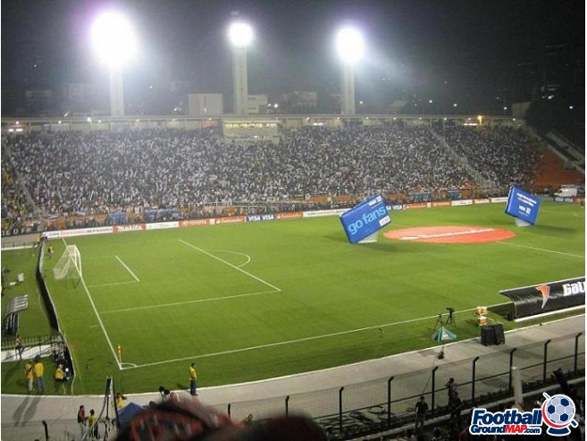 A photo of Estadio Municipal Paulo Machado de Carvalho (Pacaembu Stadium) uploaded by slyell