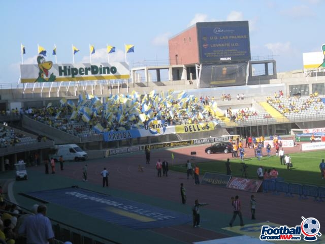 A photo of Estadio Gran Canaria uploaded by stefan05