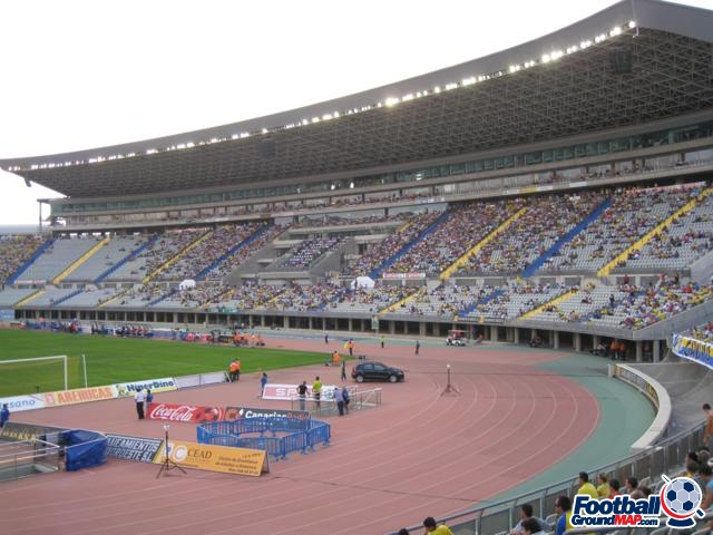 A photo of Estadio Gran Canaria uploaded by stefan05