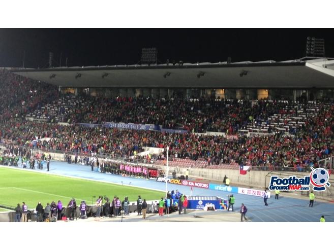 A photo of Estadio Nacional de Chile uploaded by marcos92uk