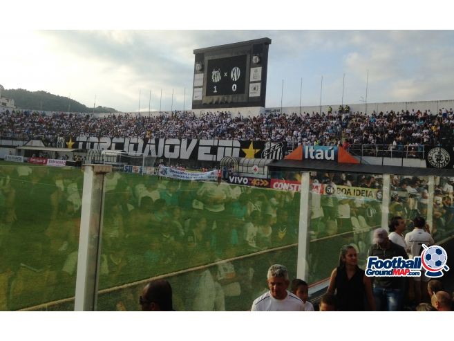 A photo of Estadio Urbano Caldeira (Vila Belmiro) uploaded by marcos92uk