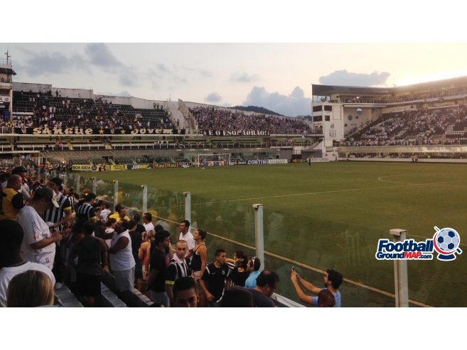 A photo of Estadio Urbano Caldeira (Vila Belmiro) uploaded by marcos92uk