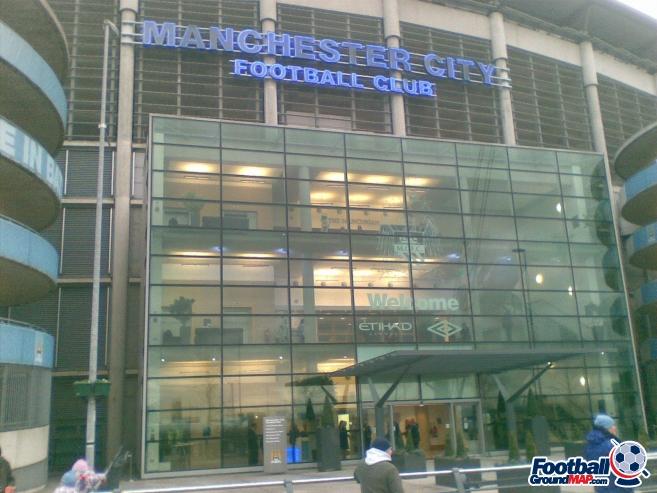 A photo of Etihad Stadium uploaded by simon