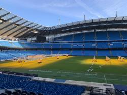 An image of Etihad Stadium uploaded by shift