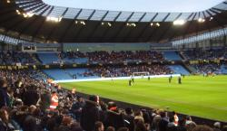 An image of Etihad Stadium uploaded by facebook-user-88385