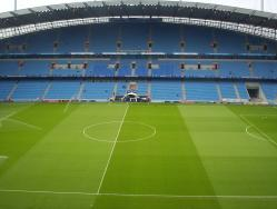 An image of Etihad Stadium uploaded by facebook-user-83896