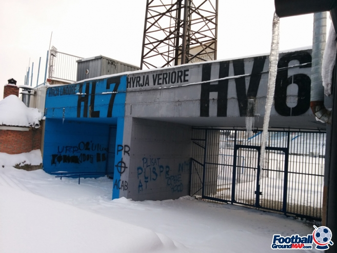 A photo of Fadil Vokrri Stadium uploaded by velvetskies