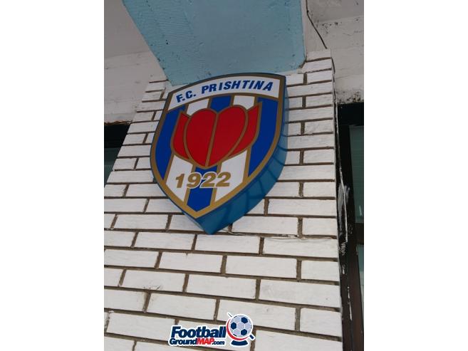 A photo of Fadil Vokrri Stadium uploaded by velvetskies