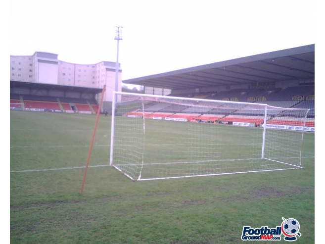 A photo of Firhill uploaded by dannyptfc