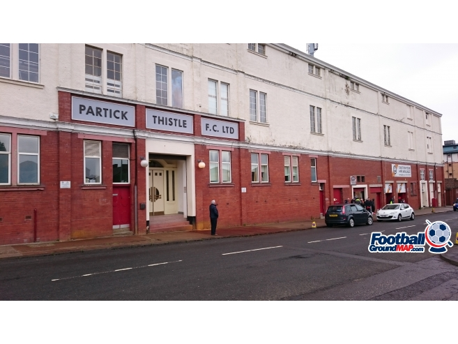 A photo of Firhill uploaded by chris-pfc