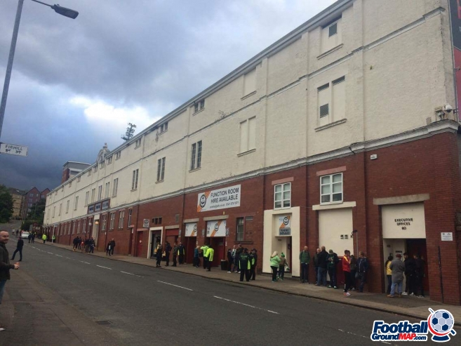 A photo of Firhill uploaded by neal
