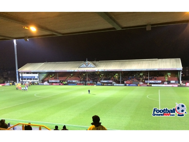 A photo of Firhill uploaded by johnwickenden