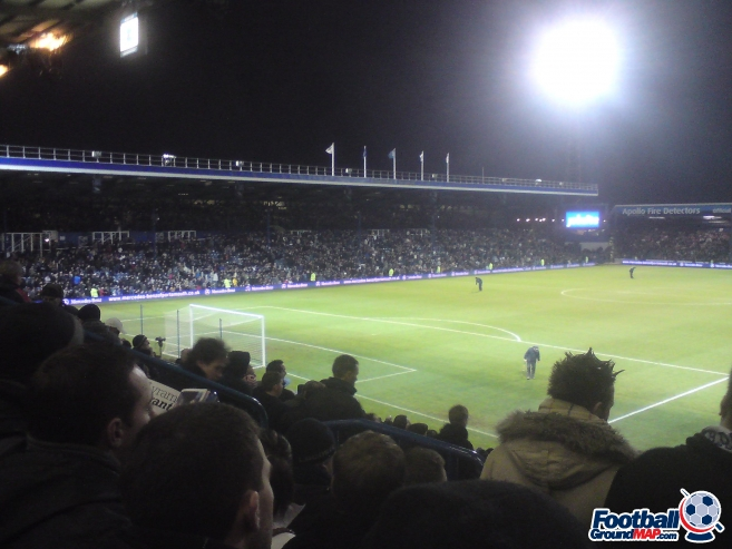 A photo of Fratton Park uploaded by biscuitman88