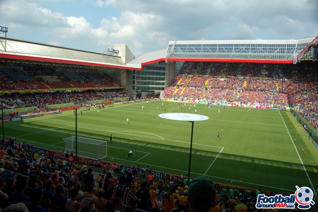 A photo of Fritz-Walter-Stadion uploaded by newrynyuk