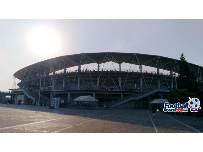 A photo of Fukuda Denshi Arena uploaded by matttheox