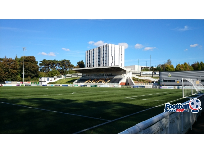 A photo of Gallagher Stadium uploaded by biscuitman88