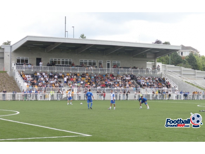 A photo of Gallagher Stadium uploaded by millwallsteve