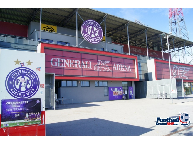 A photo of Generali Arena uploaded by zotov