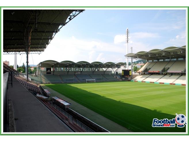 A photo of Gerhard Hanappi Stadium uploaded by zotov