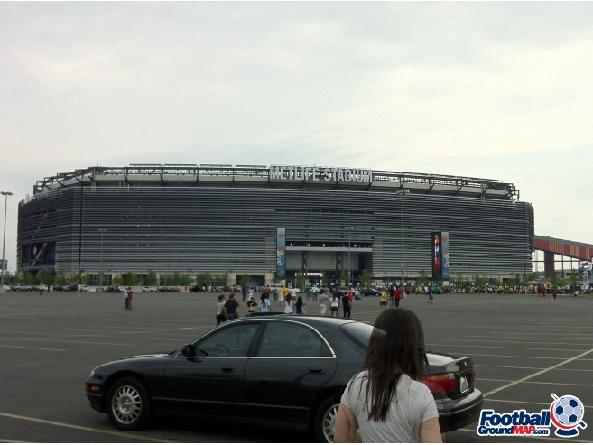 A photo of Giants Stadium uploaded by r10