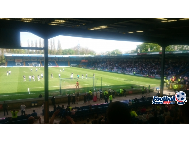 A photo of Gigg Lane uploaded by biscuitman88