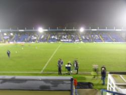 An image of Gigg Lane uploaded by smithybridge-blue
