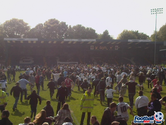 A photo of Gigg Lane uploaded by ashleyjarnoball