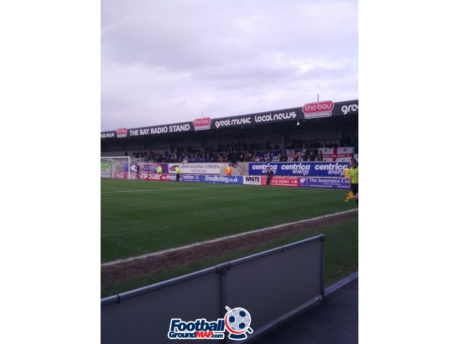 A photo of Globe Arena uploaded by planty37