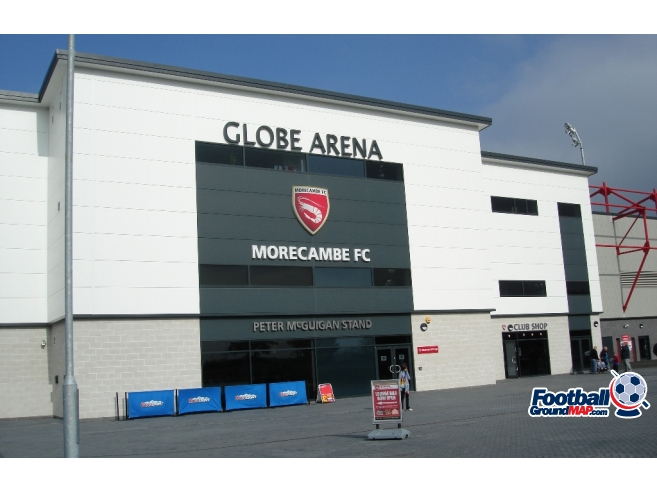 A photo of Globe Arena uploaded by saintshrew