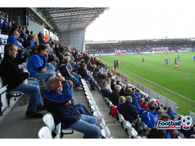 A photo of Globe Arena uploaded by saintshrew